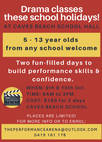 Holiday Workshops - The Performance Arena